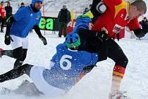 Snow rugby se dosud hraje výhradně v italském městě Tarvisio, kde už má svou dlouholetou tradici. Nyní se pokusí prosadit také v Ostravě.