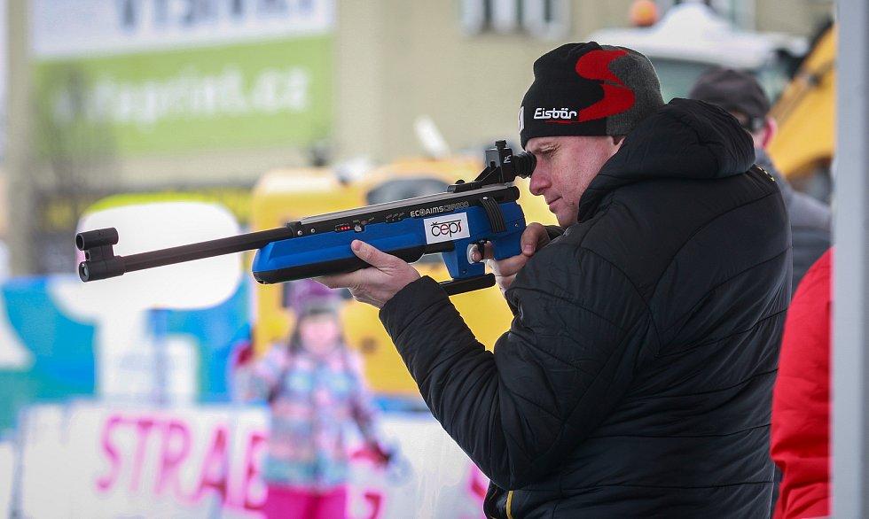 Olympijský festival v Ostravě, neděle 11. února 2018, disciplína biatlon