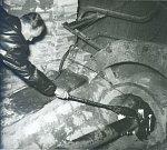 Zapálení vysoké pece č. 3 (24.12.1958).