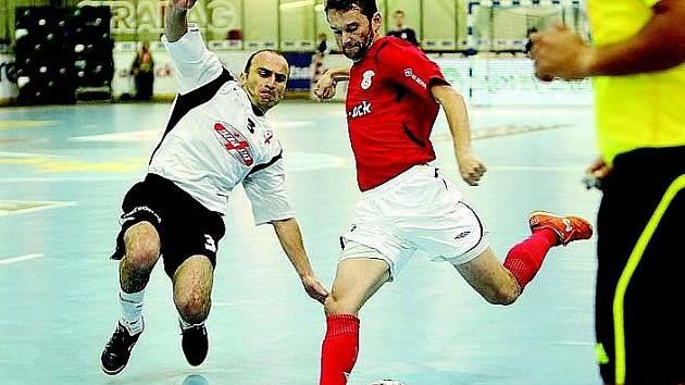 Roman Mareš stále patří mezi futsalisty světového formátu.
