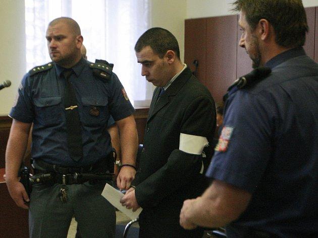 Ondřej Dlouhý před Krajským soudem v Ostravě.