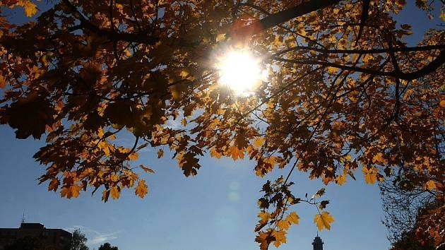 Podzim v Ostravě. Ilustrační foto