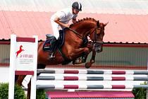 Marek Hentšel s koněm Sandino Auto Sitta