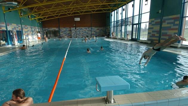 Bazén v ozdravném centru Ještěrka