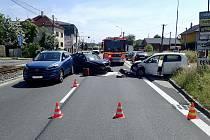 Nehoda v Porubě.