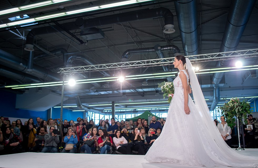 Veletrh Svatba na Černé louce, 1. února 2020 v Ostravě.
