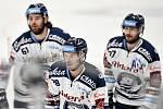 Utkání 51. kola hokejové extraligy: HC Vítkovice Ridera - HC Energie Karlovy Vary, 3. března 2020 v Ostravě. Střed Radek Veselý z Vítkovic.