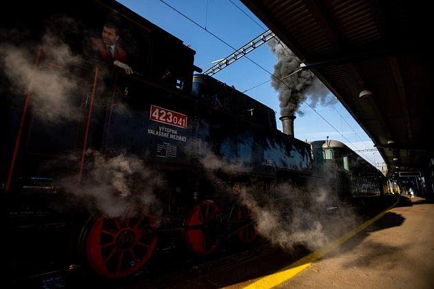 Upříležitosti výročí 150let trati Ostrava – Frýdlant nad Ostravicí se vneděli 26.září 2021mohli cestující svézt parním vlakem. Včele vlaku jela  parní lokomotiva Velký bejček zroku 1924.