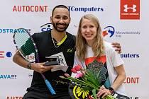 Mistrovství ČR ve squashi mělo v ostravském Sportovním centru Fajne premiéru vloni. Podívejte se, jak se na něm bojovalo o medaile. Tituly získali Anna Serme a Daniel Mekbib.