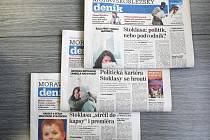 První strany Deníku patřily v uplynulých dnech kauze o podezřelých podnikatelských aktivitách významného regionálního politika Jana Stoklasy.
