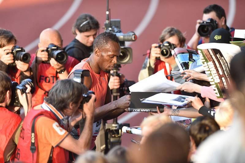 Zlatá tretra 2016. Usain Bolt