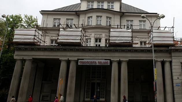 Vila v centru Ostravy, kterou nechal před sto lety postavit podnikatel Karel Kraus.