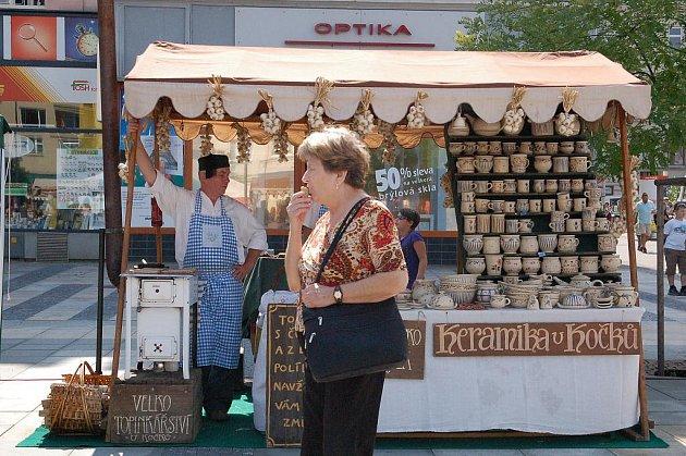 Jarmark na Masarykově náměstí v Ostravě