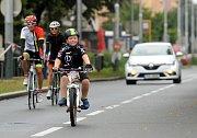 Cyklistický závod Memoriál Jana Veselého.