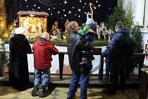 Dětská mše v chrámu Božského spasitele v Ostravě.