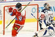 HC Vítkovice Ridera – HC Olomouc 1:2 v prodloužení, přípravný zápas v Ostravě, 10. září 2020. V čase 61:46 rozhodl útočník Petr Kolouch, který přestoupil v roce 2018 do hanáckého klubu právě z Ostravy.