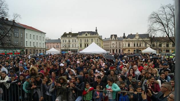 Mezinárodní den Romů v Ostravě.