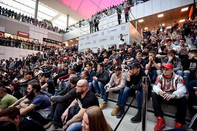 Oktagon Day vostravském OC Forum Nová Karolina, 16.únor 2019.
