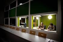 Na snímku tlumočnické laboratoře, které podle ostravské Filozofické fakulty patří k nejmodernějším ve střední Evropě, 24. ledna 2020 v Ostravě.
