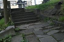 Prostranství okolo pomníku Miloše Sýkory čeká rekonstrukce.