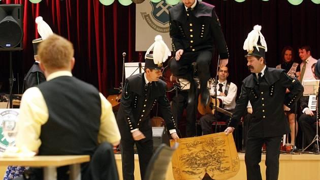 Hornický ples v Ostravě.