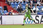 Nadstavba první fotbalové ligy, kvalifikační utkání o Evropskou ligu: FC Baník Ostrava - FK Mladá Boleslav, 1. června 2019 v Ostravě. Na snímku Nikolay Komlichenko.