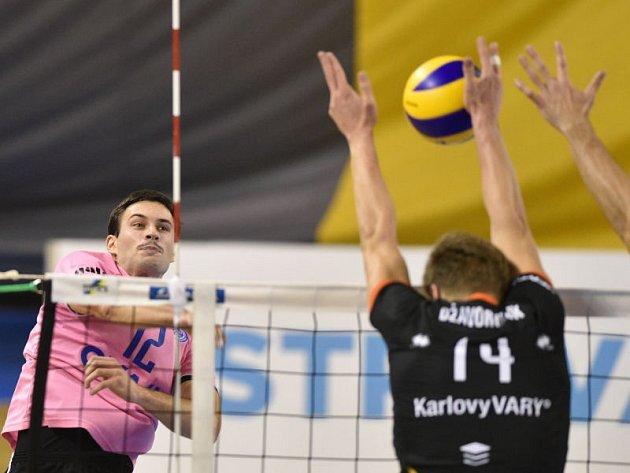 VK Ostrava - Karlovarsko 0:3