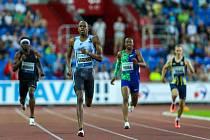 Atletický mítink IAAF World Challenge Zlatá tretra v Ostravě 20. června 2019. Na snímku Steven Gardiner z (BAH).