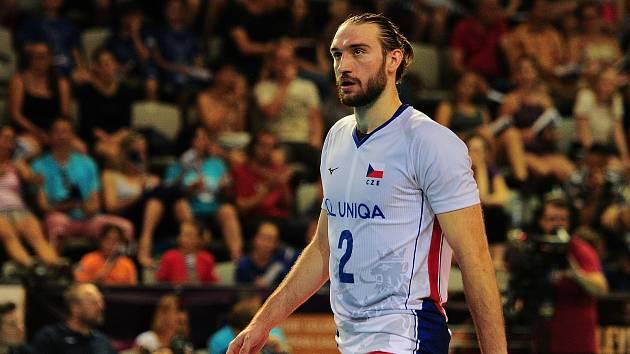 Mistrovství Evropy volejbalistů hostí v září Ostrava a univerzál Jan Hadrava se na domácí publikum těší.