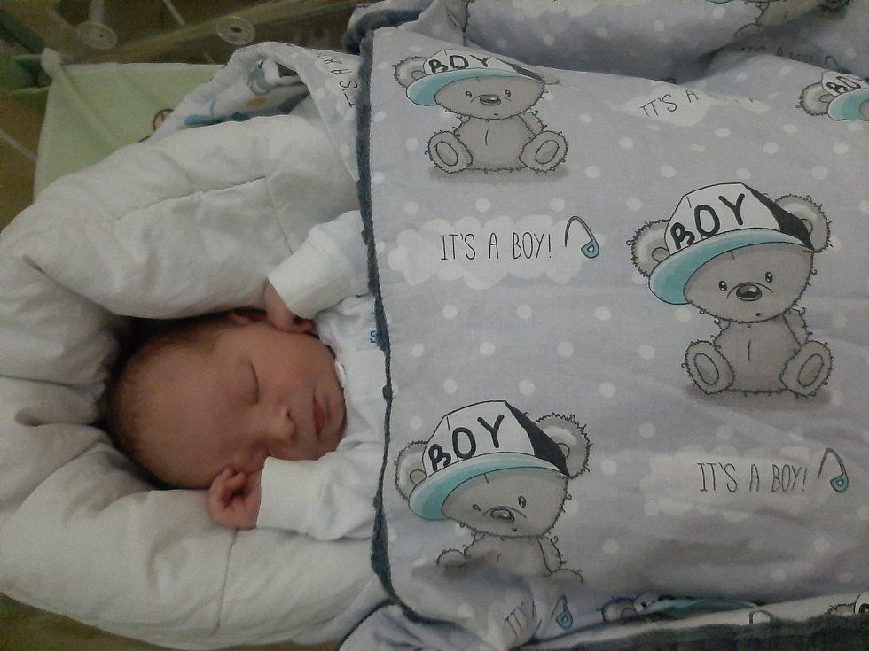 Tobiáš Pavlata, Lubno, narozen 26. ledna 2021, míra 49 cm, váha 3 200 g. Foto: archiv rodiny