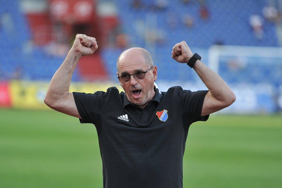 Trenér Baníku Bohumil Páník