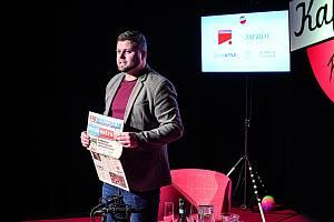 Petr Kubala, herec a moderátor Kafrárny.
