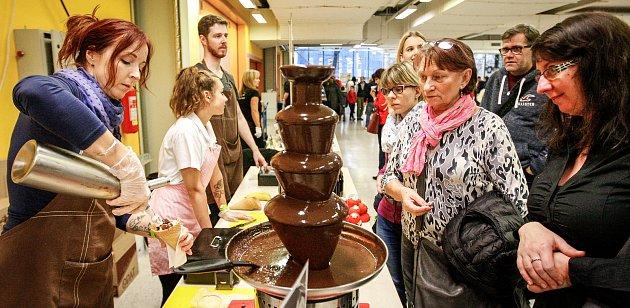 Festival čokolády na Černé Louce.