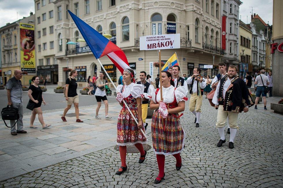 Festival Folklor bez hranic v Ostravě, 12. sprna 2019.