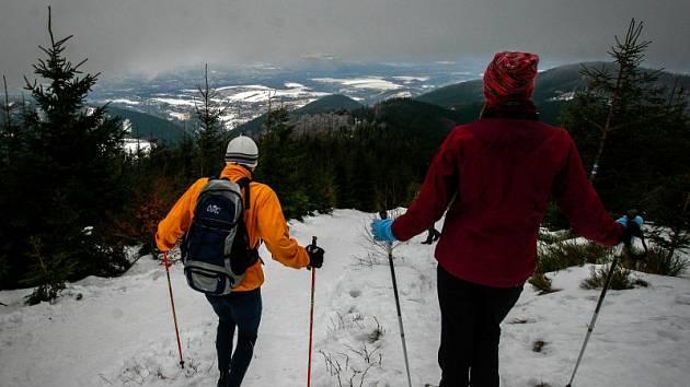 Štědrý den na Lysé hoře 2016.