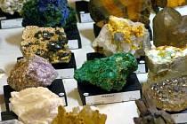 Ilustrační foto z výstavy minerálů