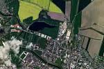 Na opavské Stříbrné jezero by rozhodně vyplout nemohla. Je příliš malé.