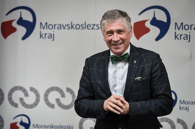 Hejtman Moravskoslezského kraje Ivo Vondrák (ANO).