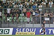Utkání 2. kola první fotbalové ligy: MFK Karviná - Baník Ostrava, 22. července 2019 v Karviné. Na snímku (vpravo) Martin Fillo.