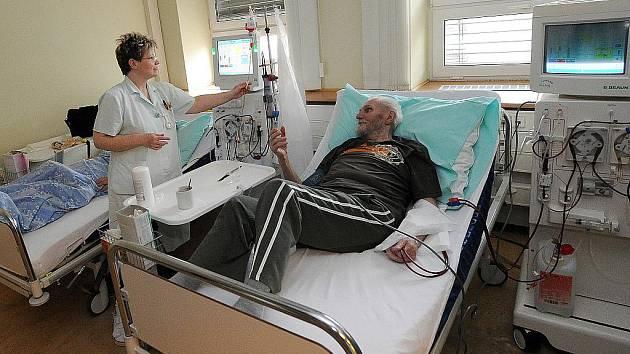 Ostravané využili čtvrtečního Světového dne ledvin a přišli do dialyzačního centra ve Vítkovické nemocnici nechat se preventivně vyšetřit.