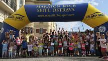 Atmosféra v centru města na RBP Ostrava City Marathonu v neděli 12. září 2021.