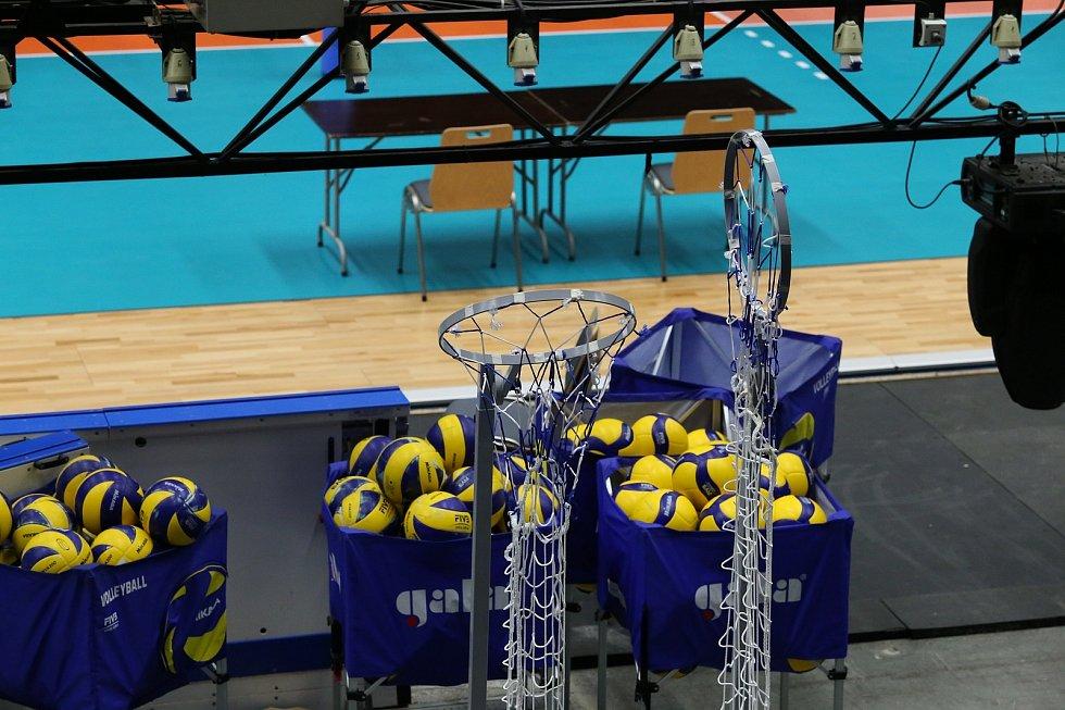 Ostravar Aréna je na mistrovství Evropy volejbalistů nachystaná. První bitvy v základní skupině B se rozhoří v pátek.