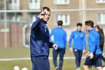 Fotbalový trenér Ondřej Smetana vede od 1. března 2021 Baník Ostrava.