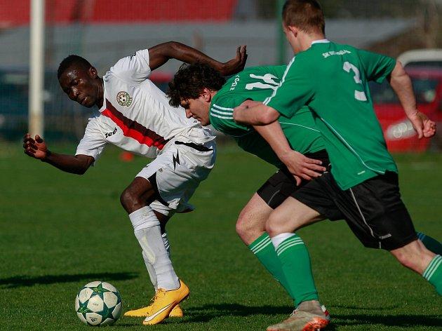Fotbalisté Heřmanic remizovali s Čeladnou 0:0.