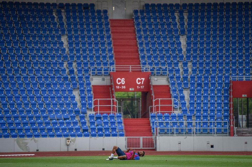 Fotbalisté Baníku zahájili letní přípravu, pondělí 18. června 2018 v Ostravě.