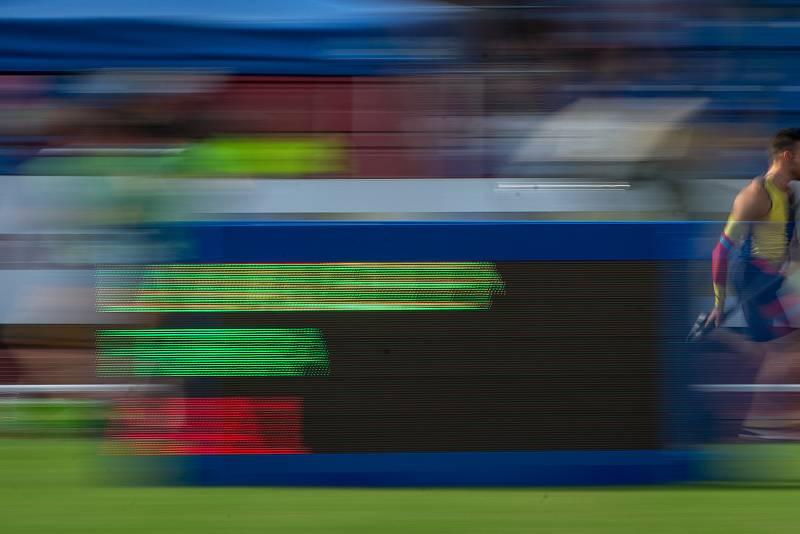 Zlatá tretra, atletický mítink IAAF World Challenge, 20. června 2019 v Ostravě. Na snímku Valentin Lavillenie.