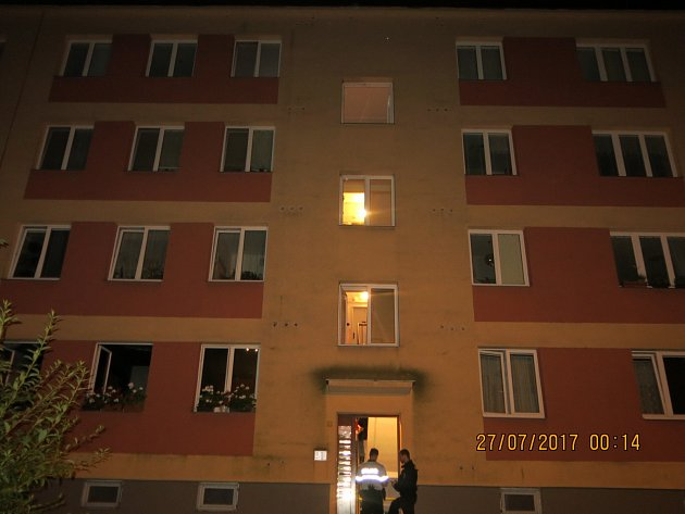 Zásah záchranných složek u tragického požáru v Ostravě-Porubě.