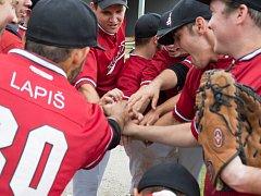 Před každým zápasem se frýdecko-místečtí baseballisté sejdou do kruhu a následuje bojový pokřik.