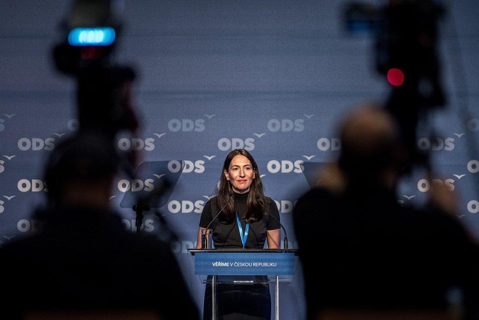 Snímek z 27. kongresu ODS v Ostravě. Alexandra Udženija.