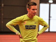 Havířovský rodák Pavel Maslák, obhájce evropského zlata v běhu na 400 metrů, trénuje v ostravské atletické hale, kde se za měsíc uskuteční velký mezinárodní mítink Czech Indoor Gala.